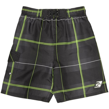 Laguna Third Wave Boro Boardshorts - UPF 50+ (For Little Boys)