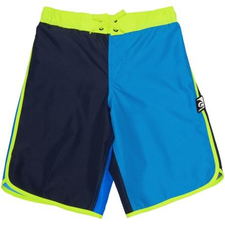 Laguna Divide Eboard Boardshorts - UPF 50 (For Big Boys)