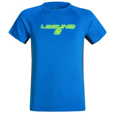 Laguna Dazed Rash Guard - UPF 50, Short Sleeve (For Big Boys)