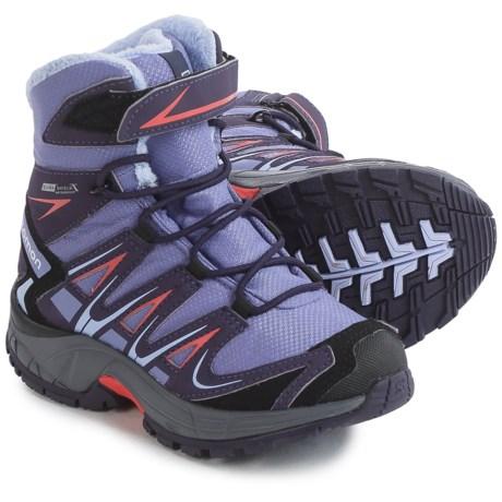 Salomon XA Pro 3D Winter TS Climashield® Boots - Waterproof, Insulated (For Little Girls)