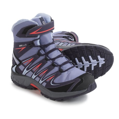 Salomon XA Pro 3D Winter Boots - Waterproof, Insulated (For Big Girls)