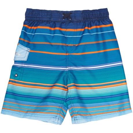 Oxide Stripe Boardshorts - UPF 50 (For Toddler and Little Boys)