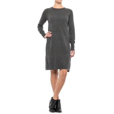Artisan NY A-Line Knit Dress - Long Sleeve (For Women)