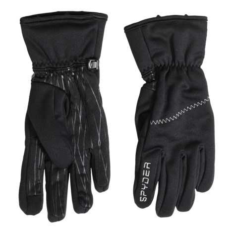 Spyder Facer Conduct Ski Gloves - Insulated, Touchscreen Compatible (For Women)
