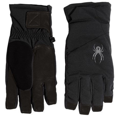 Spyder Sweep Ski Gloves - Waterproof, Insulated (For Men)