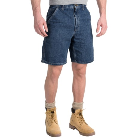 Carhartt Denim Work Shorts - Lightweight, Factory Seconds (For Men)