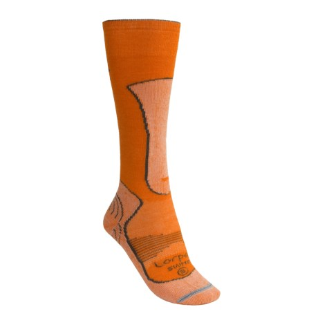 Lorpen Merino Wool-Silk Ski Socks - Lightweight (For Women)