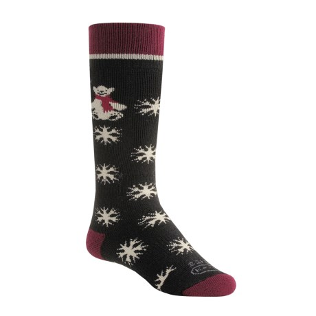 Lorpen Ski-Snowboard Italian Wool Socks - Mid- to Heavyweight, 2-Pack (For Kids Youth)