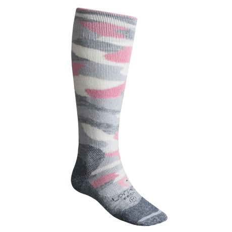 Lorpen Freeride Camo Ski Socks - Italian Wool (For Men and Women)