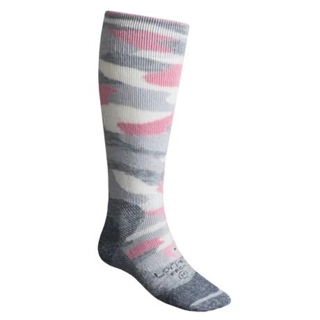Lorpen Freeride Camo Ski Socks - Italian Wool (For Men and Women)