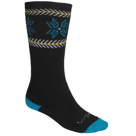 Lorpen Ski-Snowboard Socks - Italian Wool, 2-Pack (For Men and Women)