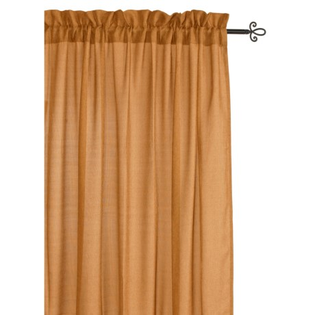 "Home Styles Seagrass Curtains - 84"", Pole Top"