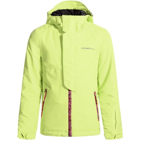 O'Neill Jewel Ski Jacket - Waterproof, Insulated (For Little and Big Girls)