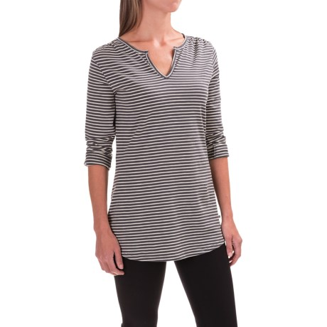 Toad&Co Tamaya TENCEL® Tunic Shirt - V-Neck, Long Sleeve (For Women)