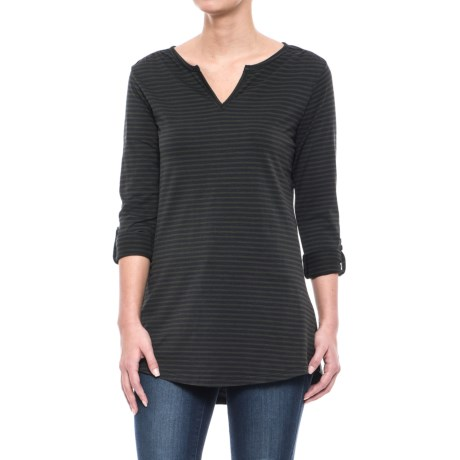 Toad&Co Tamaya TENCEL® Tunic Shirt - V-Neck, Long Sleeve (For Women)