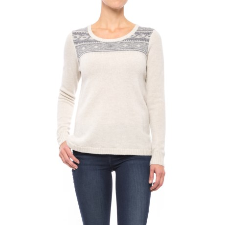 Toad&Co Aleutia Jacquard Sweater - Lambswool (For Women)