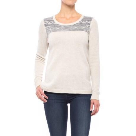 Toad&Co Aleutia Jacquard Sweater - Lambswool (For Women)