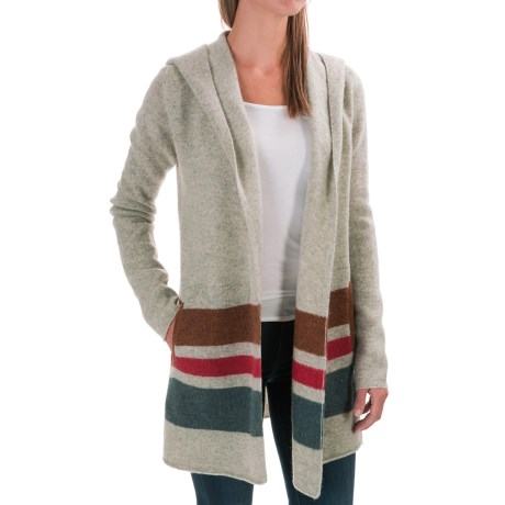 Toad&Co Heartfelt Hooded Cardigan Sweater - Wool (For Women)