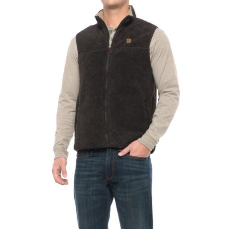 Coleman Full-Zip Sherpa Fleece Vest (For Men)