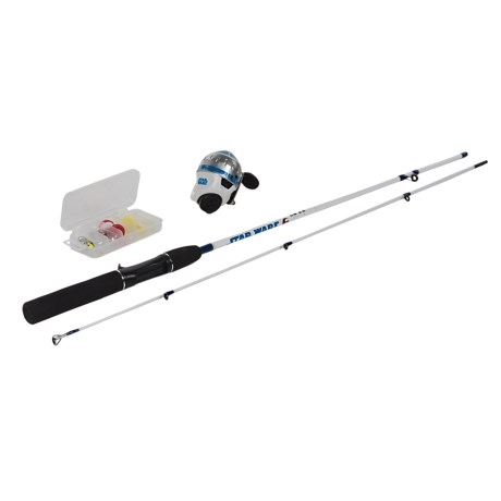 Zebco Star Wars Spincast Combo Kit with Tackle Box - 5'6""