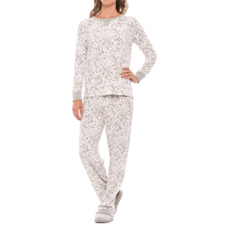 Carole Hochman Microfleece Pajamas - Long Sleeve (For Women)