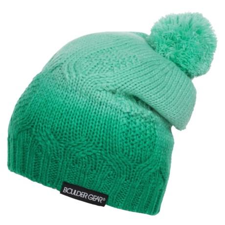 Boulder Gear Ombre Knit Hat (For Big Girls)