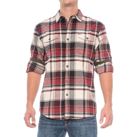 Dakota Grizzly Turner Herringbone Flannel Shirt - Cotton, Long Sleeve (For Men)