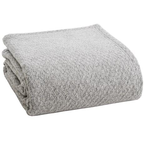 Ibena Noblesse Diamond Optics Bed Blanket - Queen