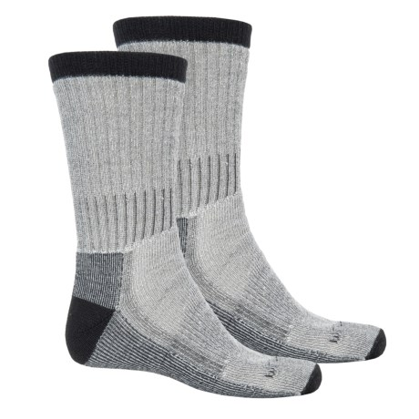 Woolrich Traditional Heavyweight Hiker Socks - 2-Pack, Crew (For Men)