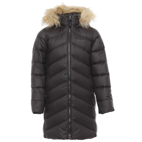 Marmot Montreaux Down Coat - 700 Fill Power (For Little and Big Girls)