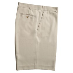 Rendezvous by Ballin Microfiber Shorts - Flat Front (For Men)