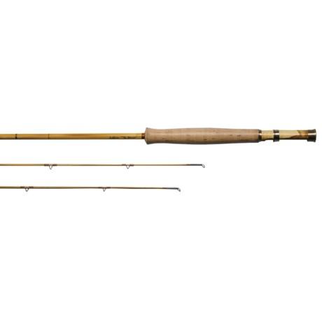 "Schliske Bamboo Fly Rods Schliske Yampa Handmade Bamboo Fly Fishing Rod - 7'9"", 5wt, 2-Piece, Spare Tip"