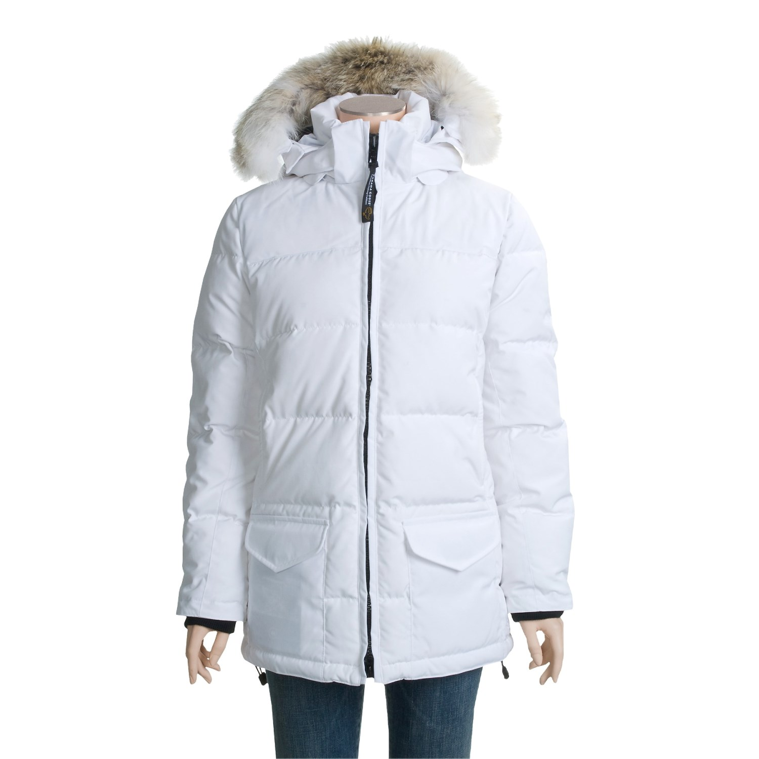 Canada Goose jackets outlet fake - Canada Goose Solaris Down Parka (For Women) 2369F - Save 36%