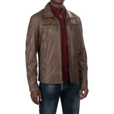Scully Lamb Leather Jacket (For Men)