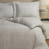 Wulfing Dormisette Houndstooth Luxury Flannel Duvet Set - King