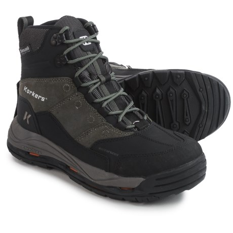 Korkers Winter Boots - Waterproof, Insulated (For Men)