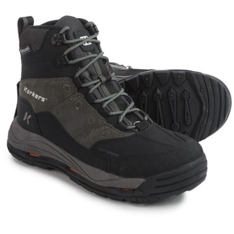 Korkers Winter Boots - Waterproof, Insulated (For Men)