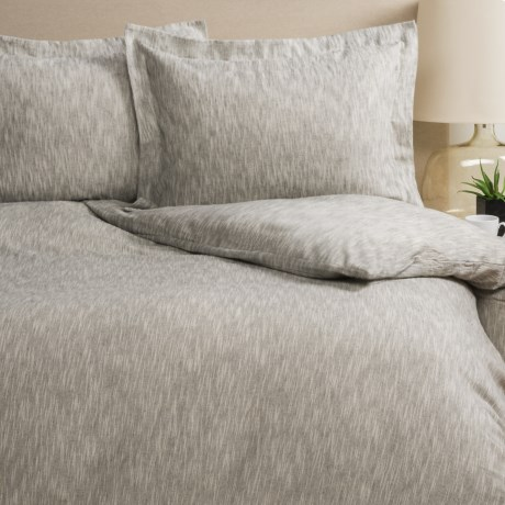 Wulfing Dormisette Luxury Flannel Duvet Set - Queen