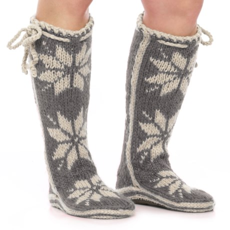 Woolrich Chalet Socks - Over the Calf (For Women)