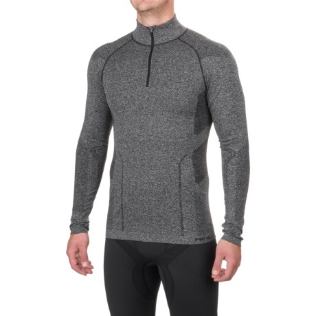 Fera Ergo Base Layer Top - Zip Neck, Long Sleeve (For Men)