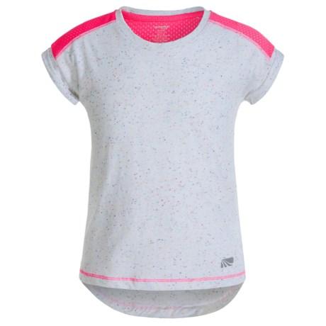 Marika Active T-Shirt - Short Sleeve (For Little Girls)