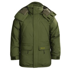 Marmot Yukon Classic Down Parka - Waterproof, 650 Fill Power (For Big Men)