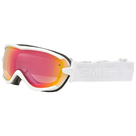 Smith Optics Virtue Ski Goggles - Mirror Lens (For Women)