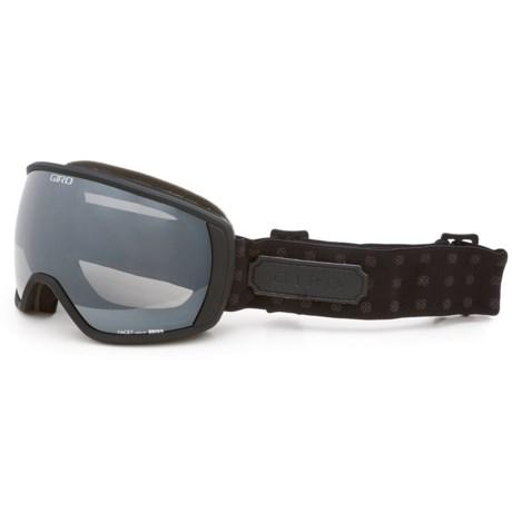 Giro Facet Ski Goggles - Limo Spherical Lens (For Women)