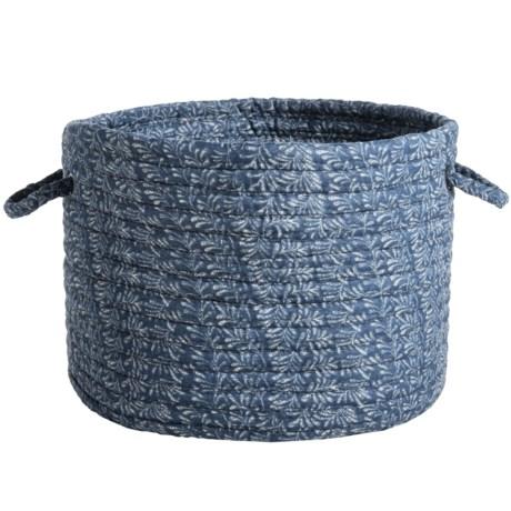 "Colonial Mills Cotton-Blend Storage Basket - 14x10"""