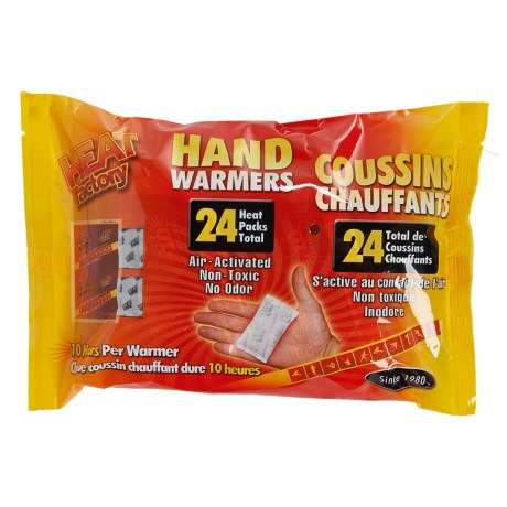 Heat Factory Hand Warmers - Big 24-Pack