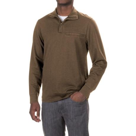 Royal Robbins Pigment Terry Sweatshirt - Zip Neck (For Men)