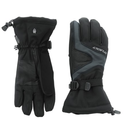 Seirus Heatwave Plus Shine Gloves - Waterproof, Insulated (For Men)