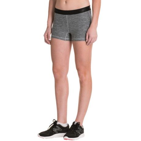 New Balance Space-Dye Shorts (For Women)