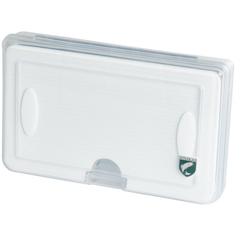 """Douglas Outdoors Fly Box with Slotted and Micro-Slit Foam - 6.50x4.41"""""""